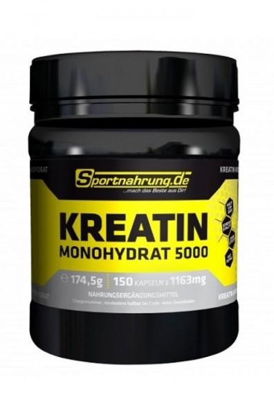 Sportnahrung.de 5000 Kreatin Monohydrat 150 Kapseln