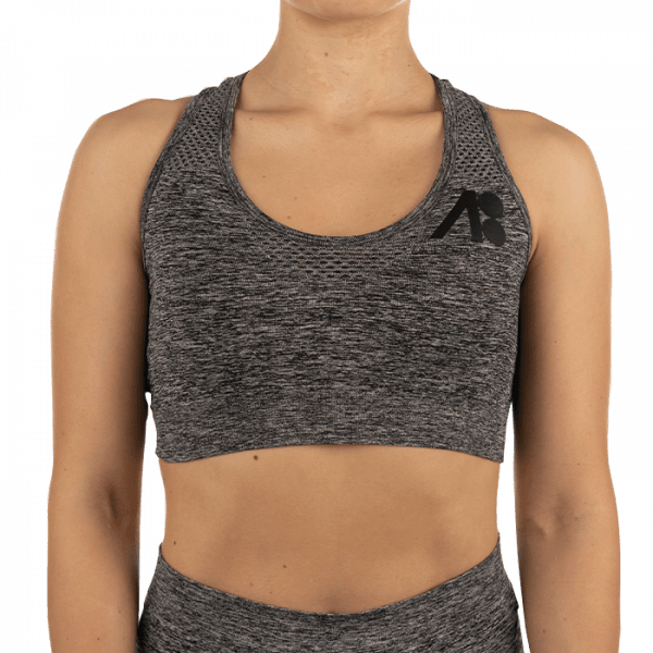 ATOMBODY Workout TOP, woman, XS, dark grey Sportbekleidung
