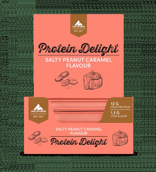 MULTIPOWER 34% Protein Delight Riegelbox 18 Stück 35g