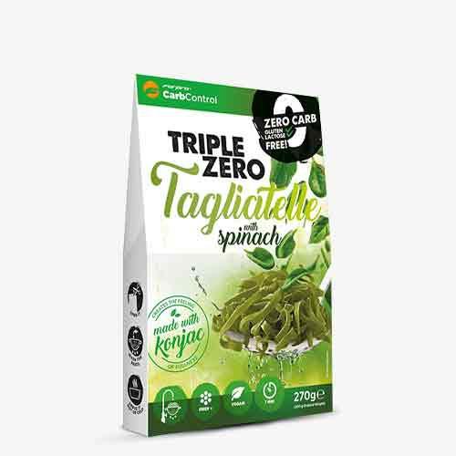FORPRO Triple Zero Pasta 270g - Tagliatelle Spinach