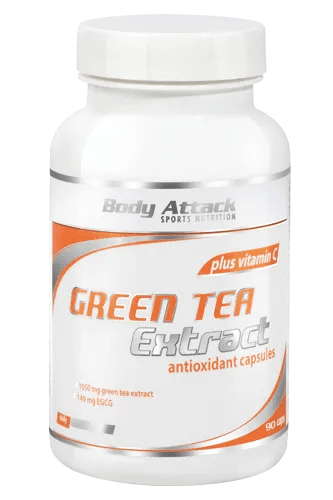 Body Attack Green-Tea Extract 90 Kapseln